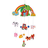 Bigjigs Toys BJ968 Mobile (Farm)
