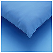 Tesco Fitted Sheet Kingsize Sea Blue