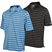 Woodworm Golf Powerdry Stripe Golf Shirts - 2 Pack S