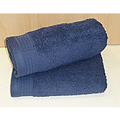 Luxury Egyptian Cotton Bath Towel - Denim