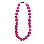 Jellystone Junior Princess -Pea Teething Necklace in Watermelon Pink