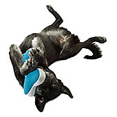 Planet Dog Slobber-Wick Old Soul Bones Dog Toy in Teal - Small (12.7cm H)