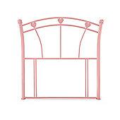 Serene Furnishings Jemima Single Headboard in Glossy Pink