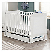 Saplings Pisa Cot Bed - White