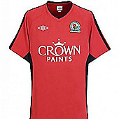 2010-11 Blackburn Away Football Shirt (Kids) - Red
