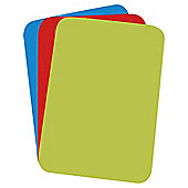 Tesco Flexi Index Chopping Mats 3pk