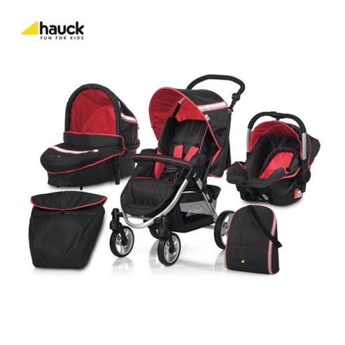 Hauck Apollo All in One Travel System, Tomato