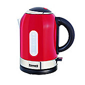 HMKT100RD 3000w 1.7L Cordless Kettle with 360 Degree Base in Red