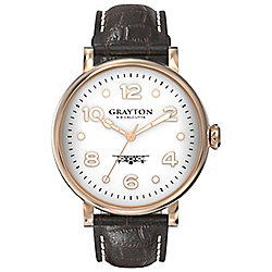 Grayton S.8 Calcutta Mens Leather Watch GR-0014-007.5