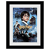 Harry Potter and the Philosophers Stone Framed Print, 30x40cm