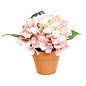 21cm Large Artificial Hydrangea Flower In Pot