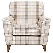 Byron Occasional Chair, Ecru Check