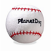 Planet Dog Squeaky Sport Baseball Dog Toy