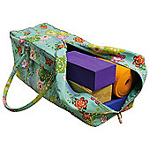 Yoga Mad Kit Bag - Flower Power
