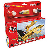 Airfix Folland Gnat T.1 Yellowjacks 1:72 Scale Model