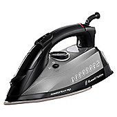 Russel Hobbs 19330 Ceramic Plate Steam Iron - Black & Grey