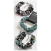 Ribbon and Bead Bracelet - Assorted