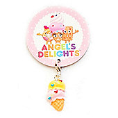 Children's Sprinkles Ice Cream Cone Clip on Charm
