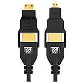 Scosche trueVIEW multi (0.9m) HDMI Cable with Micro & Mini HDMI Adapters