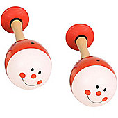 Bigjigs Toys Animal Maracas (One Pair - Ladybird)