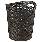 Curver My Style - Waste Bin With Handles -12.5L - Brown