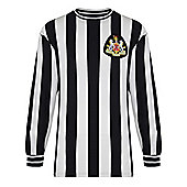 Newcastle United 1971 Home Shirt - Black & White