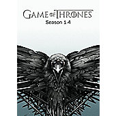 Game Of Thrones Season 1-4 DVD