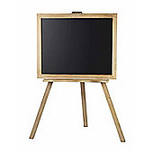 Parlane Large Wooden Blackboard On A Stand