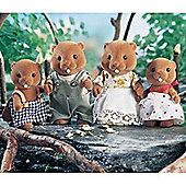 Sylvanian Families Beaver Family