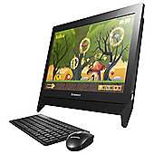 Lenovo E1 All-in-One Desktop PC, AMD, Windows 10, 4GB RAM, 500G - Black