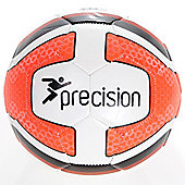 Precision Santos Training Ball White/Fluo Orange/Black Size 4
