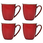Denby Everyday Mugs, 4 Pack