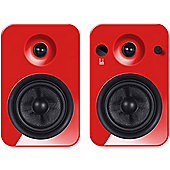 Roth OLi POWA-5 Bluetooth Active Speakers, Red