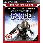 Star Wars Force Unleashed Sith (PS3)