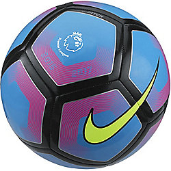 Nike Premier League Pitch Football - Cyan/Volt Size - 5