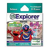 LeapFrog Explorer Learning Game Sesame Street Solve It 2.0