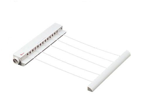Metaltex 406325 Portofino Rewind Airer 5Line