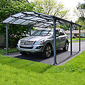 Arcadia 5000 Car Port - Grey