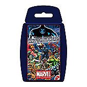 "Top Trumps - Marvel Universe ""Who's your hero?"""
