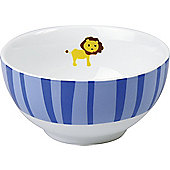 Könitz Childrens Jungle Kids Cereal Bowl in Blue (Set of 4)