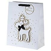 Glitter Reindeer Large Bag