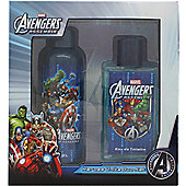Marvel Avengers Assemble Gift Set 75ml EDT Spray + 100ml Shower Gel For Men