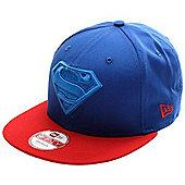 New Era Cap Co Character Poptonal Superman Snapback Cap - Blue