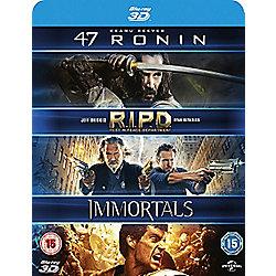 47 Ronin 3D / R.I.P.D 3D / Immortals 3D