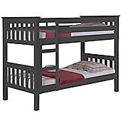 Graphite Grey Children's Bunk Bed