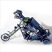 Motorcycle - Handmade Metal Recycled Wine Bottle Holder