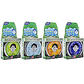 Crazy Aaron's Thinking Putty 10cm Tins - Glow in the Dark Set of 4 - Krypton, Amber, Ion, Aura