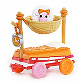 Mini Lalaloopsy Silly Pet Parade - Sleepy Pet Wagon