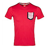 2014-15 England Nike Covert Pocket T-Shirt (Red) - Red