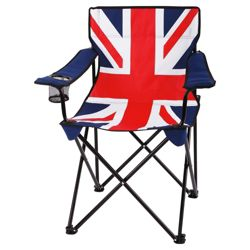 Tesco Camping Chair, Union Jack